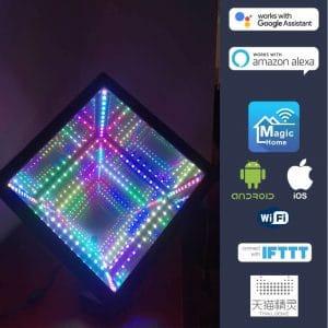 Cube RVB infini